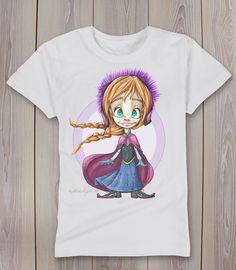 camiseta princesa Anna manudejavea.com