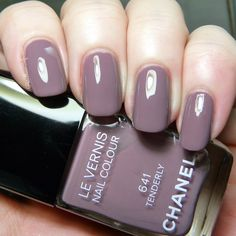 Chanel Tenderly 641. This reminds me of the much sought-after Parlez Vous OPI.