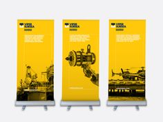 Roll-up design - Viper Subsea banners — Mytton Williams