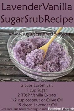 How to Make Face Scrub, Homemade Hand Scrub, Sugar Scrub Recipe, Homemade Exfoliating Body Scrub, Di Best Body Scrub, Body Scrub Recipe, Diy Body Scrub, Sugar Scrub Recipe, Diy Scrub, Exfoliating Body Scrub Diy, Sugar Hand Scrub, Zucker Schrubben Diy, Spa Tag