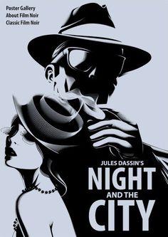Film noir posters by nastia krasilnikova