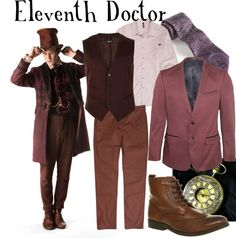 """""""Eleventh Doctor"""" by companionclothes ❤ liked on Polyvore"""