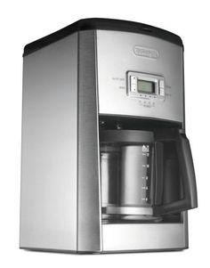 DeLonghi DC514T 14-Cup Programmable Drip Coffeemaker - http://teacoffeestore.com/delonghi-dc514t-14-cup-programmable-drip-coffeemaker/