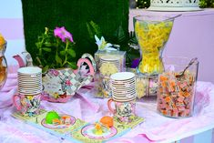 Alice, Candy, Bar, Table Decorations, Home Decor, Decoration Home, Room Decor, Sweets, Home Interior Design