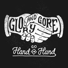Glory and Gore - LORDE by Joshua Noom, via Behance