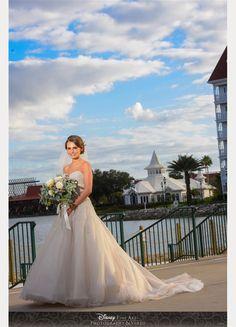 Katy looks lovely wearing Sophia Tolli Ida - a tulle A-line wedding dress beaded lace bodice