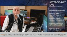Asteroid Day Live Stream