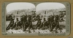 Troops on the beach on Cape Helles as stores are being unloaded during the Gallipoli Campaign