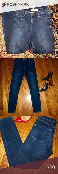 Top Shop Moto Jamie Jeans Perfect pair of super skinny jeans Dark wash  classic TOP SHOP Jamie style Soft denim Topshop Jeans Skinny