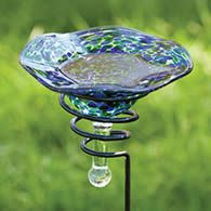 Cute little birdbath