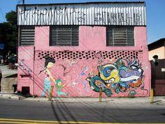 Grafitera,Yara Amaral (Brasil)  Foto de Rafael Munduruca