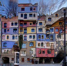 Hundertwasserhaus Wien Austria