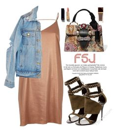 """""""FSJ Shoes"""" by oshint ❤ liked on Polyvore featuring River Island, Miu Miu, Chanel, shoes and fsjshoes"""