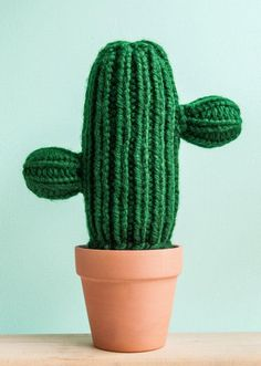 A new (knitted) species of cactus. #EtsyFinds