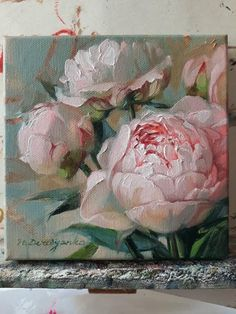 Original flowers painting Peony oil painting original Pink flowers in art painting on canvas Peonies small paintings Floral painting 66 Oil Painting Flowers, Oil Painting On Canvas, Canvas Art, Small Paintings, Original Paintings, Oil Painting Techniques, Art Drawings For Kids, Painting Inspiration, Etsy