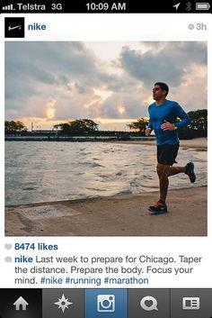 Nike Running understanding what their customers are going through. #RunwayDigital #SocialMedia