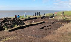 "Aberdeen archaeologists rescue Yup'ik ""melting village"" in Quinhagak, Alaska Aberdeen University, Ancient Astronomy, Research Grants, Native American History, Science And Nature, Anthropology, Prehistoric, Ancient History, Ecology"