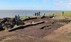 "Aberdeen archaeologists rescue 700-year-old Yup'ik ""melting village"" in Quinhagak, Alaska"