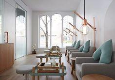 Beauty EDU Melbourne - New Premises  Mani Area Loved the interior & colour palette used