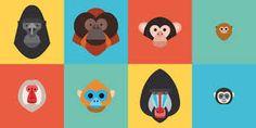 Image result for monkey illustration