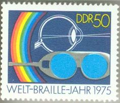 1975 Germany International Braille Year