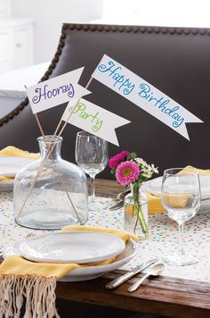 DIY Birthday party ideas and a FREE subscription to celebrate Magazine!!