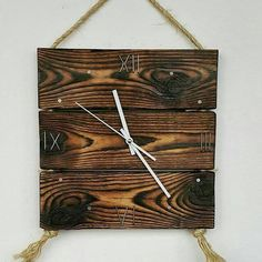 Best and Creative Pallet Patio Furniture Projects ideas – Sensod – Create. Pallet Patio Furniture, Diy Furniture Easy, Wall Clock Wooden, Wood Clocks, Clock Art, Diy Clock, Diy Wood Projects, Furniture Projects, Wooden Diy