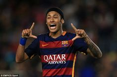 Barcelona forward and Brazil international captain Neymar has also been nominated for the ...