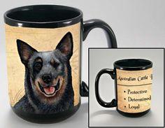 ACD DOG AUSTRALIAN CATTLE DOG HALLOWEEN COFFEE MUG CATTLE DOG HALLOWEEN GIFTS