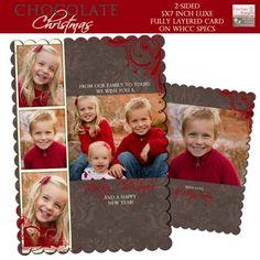 Free Holiday Photo Card Templates Pinterest Free Christmas - Christmas card templates for photographers 2