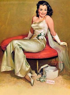 7e54c82469f Alluringly elegant indeed!  vintage  art  glamorous Pin Up Posters