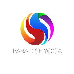 Logo Abstract Graphic Design by Krystle Villanueva. Symbolizing Chakra Yin Yang Zen for Paradise Yoga . Branding & Identity Project. Visit http://kvillanueva.com