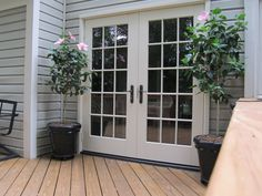 Image Of Exterior French Doors With Transom And Exterior French - Patio doors atlanta
