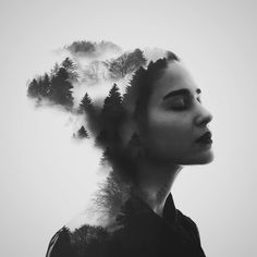 Artist Erkin Demir Creates Superb Surreal Double Exposure Portraits