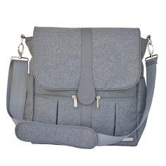 Amazon.com : JJ Cole Backpack Diaper Bag, Gray Floret : Diaper Tote Bags : Baby