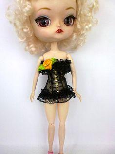 Vestiti per bambola Pullip, Blythe . Corsetto, top Pullip,Blythe . Pullip,Blythe vestito, fascion Pullip,Blythe ,