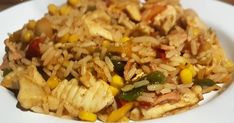 Syn Free Slimming World Friendly Chicken & Bacon Dirty Rice Recipe. Easy to make, and extremely delicious! Slimming World Cake, Dirty Rice Recipe, Free Chickens, Pink Foods, Chicken Bacon, Rice Recipes, Fried Rice, Journey, Cakes