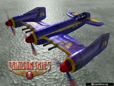 Crimson Skies, cool plane design. Don't remember the colours being this tacky tho