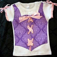 Rapunzel t-shirt: need to make for my daughter's bday