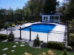 Pool Landscaping 2011