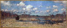 Łoś Datowanie zabytku:1899 Autor - malarz:Fałat, Julian (1853-1929) Łoś