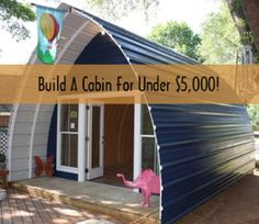 How To Build A Cabin In A Weekend For Under $5000...http://homestead-and-survival.com/how-to-build-a-cabin-in-a-weekend-for-under-5000/