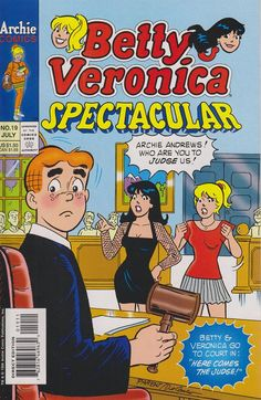 Betty and Veronica Spectacular Archie Betty And Veronica, Archie Comics Riverdale, Archie Comic Books, Archie Jughead, Dan Decarlo, Josie And The Pussycats, Comic Boards, Archie Andrews, Pop Art