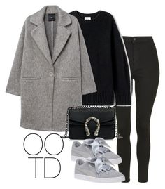 """OOTD 02-10-2018"" by theeuropeancloset on Polyvore featuring Topshop and MANGO"