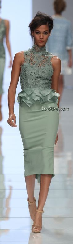 Ermanno Scervino SS 2012 I love my shoulders...