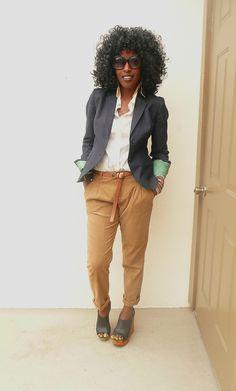 Style Pantry | JCrew Blazer + JCrew Shirt + Zara Pants