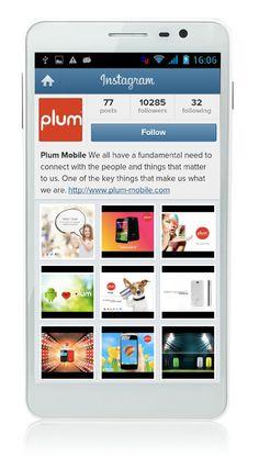 Follow us on Instagram: http://instagram.com/plummobile  #plummobile