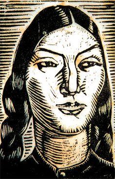 jose sabogal arte | Foto: Cholita, de José Sabogal en Kalipedia Argentina