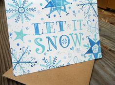 Katie Daisy Christmas Card. LOVE. @Laura Jayson Pearson!
