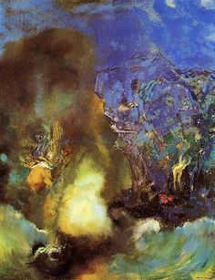 Roger And Angelica  Odilon Redon